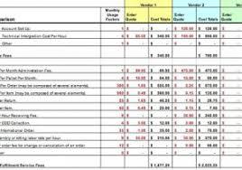 product comparison template word sample u2013 pccatlantic spreadsheet