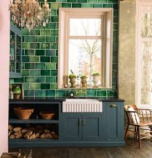 green kitchens with white cabinets pull out corner cabinet storage