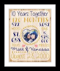 10 year anniversary gift husband 24 best anniversary ideas images on