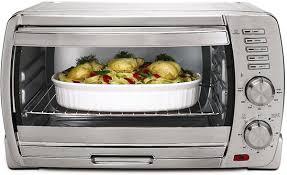 12 Inch Toaster Oven Tssttvskbt 053 6 Slice Brushed Stainless Steel Toaster Oven 220