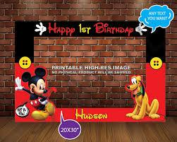 mickey mouse photo booth mickey mouse photo booth frame mickey pluto party mickey