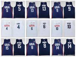 Harrison Barnes Shirt 2017 2016 Usa Dream Twelve Team Jersey 5 Kevin Durant 7 Kyle Lowry