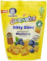 graduates snacks gerber graduates bitty bites