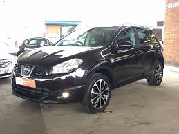 black nissan used nightshade black nissan qashqai for sale bedfordshire