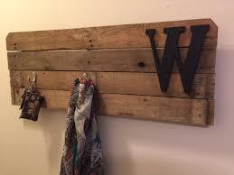 weekend diy pallet wood coat rack u2013 a life inspired