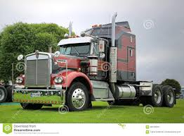 kenworth aerodyne kenworth 900a year 1976 show truck editorial stock image image