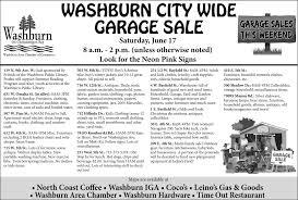 city wide garage sale washburn area chamber of commerce washburn wi