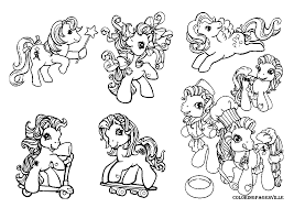 little ponies coloring pages coloring home