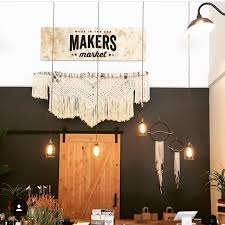 Chandelier Makers Shop Local At These 6 Makers Markets This Spring