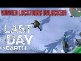 winter gameplay last day on earth survival update 1 6 12 apk mod