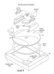 Rotating Beds Patent Us8127380 Hospital Beds With A Rotating Sleep Surface