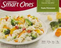 smart ones savory italian recipes pasta primavera 9 oz box