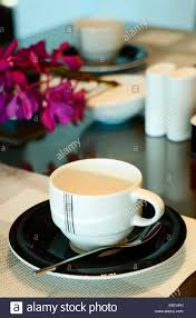 place setting a place setting with a coffee cup glass and