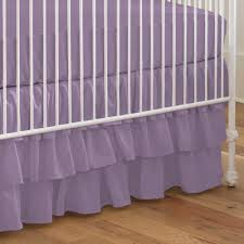 Purple Nursery Bedding Sets by Violet Crib Skirt Creative Ideas Of Baby Cribs