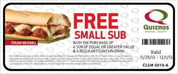 black friday coupons quiznos black friday coupons 2013