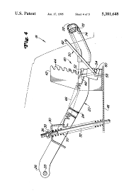 patent us5381648 mower deck height adjustment mechanism google