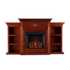 amazon com southern enterprises tennyson electric fireplace with