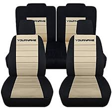2010 mustang seat covers amazon com 2005 2010 ford mustang black seat covers with your