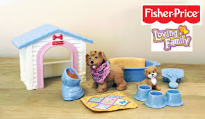loving family kitchen furniture fisher price loving family puppy playtime doll furniture