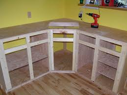 Kitchen Cabinet Drawer Construction by Ana White Build A Wall Kitchen Corner Cabinet Free And Easy