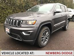 jeep cherokee gray 2017 new 2017 jeep grand cherokee limited sport utility in newberg a239