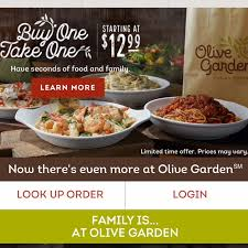 olive garden how nina scored 6 entrees 3 soups salads