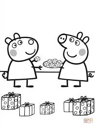 peppa suzy cookies cartoon coloring cartoon cute