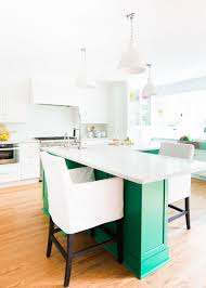 kitchen design with green kitchen island home bunch interior green kitchen white and green kitchen the white cabinet paint color is bm white