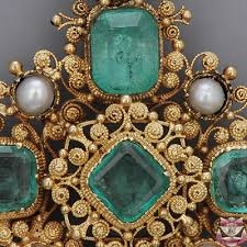 antique emerald necklace images Jewelry necklaces antique georgian emerald necklace jpg
