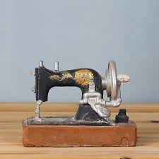 vintage retro sewing machine desk decorations ideal for photo