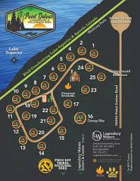Wisconsin Campgrounds Map by Campgrounds U2013 Legendary Waters Resort U0026 Casino