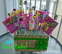 ideas for raffle baskets booze basket nic on the net