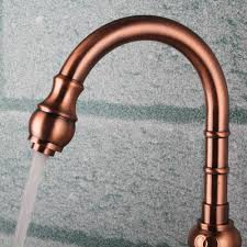 Copper Faucet Kitchen by Sink Faucet Design Copper Faucets Sinks Bar Kitchen Gold Lead