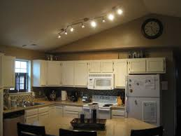 marvelous track lighting for kitchen in house design plan with