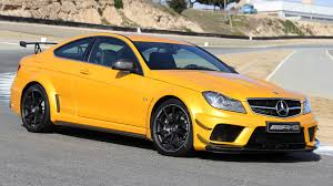 mercedes c63 black series mercedes sells out of c63 amg black series coupes autoblog