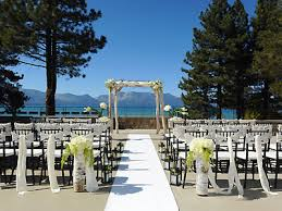 lake tahoe wedding venues the landing resort and spa south lake tahoe weddings nevada