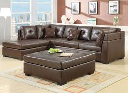 Comfortable Leather Couch Alluring Ideas For Tufted Leather Couch Design Furniture