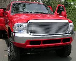 ford truck grilles t rex ford 99 04 excursion duty grilles