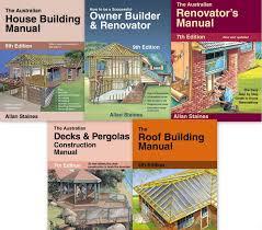 allan staines books house building owner builder u0026 renovator