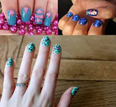 cool and easy nail designs cute easy christmas nail designs
