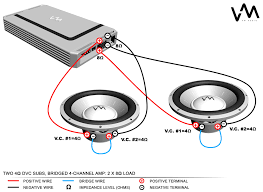 wiring diagrams speaker wire for subs amplifier circuit