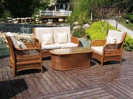 How To Restore Wicker Patio Furniture by Pretty Wicker Patio Table Outdoor Furniture Restore Wicker
