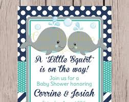 whale baby shower invitations navy and yellow whale baby shower invitation gender neutral