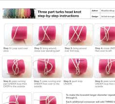 rope bracelet kit images Rope bracelet instructions 3 part sailor bracelet turks head jpg