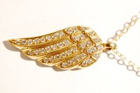 gold wing necklace images 14k gold angel wing necklace with diamonds anns fine gifts jpg