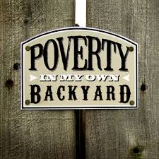 My Own Backyard Poverty In My Own Backyard U2013 Messages In A Bundle Big Idea Resources