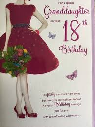 birthday cards with shoes granddaughter 18th 18 purple dress shoes flowers design happy