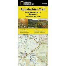 Appalachian Mountains On Map 1510 Appalachian Trail East Mountain To Hanover Vermont Trail