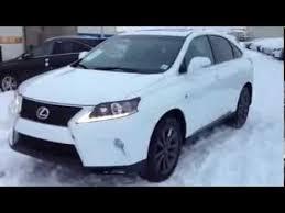 lexus rx 2014 2014 white lexus rx 350 awd f sport series 1 review edmonton