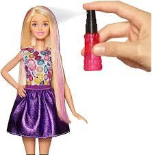 barbie d i y crimp and curl fashion doll caucasian toys